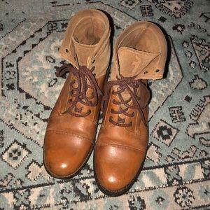 Rare Vintage Frye Lace Up Boots
